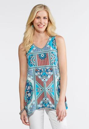 Moroccan Patchwork Top