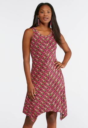 Shoptagr Plus Size Lime Berry Scoop Neck Dress By Cato