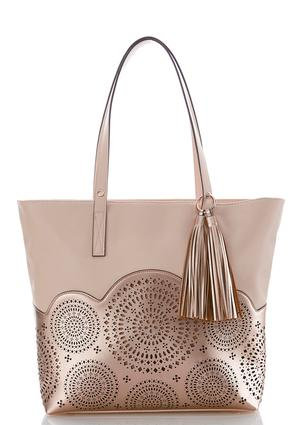 Laser Cut Tassel Tote at Cato in Brooklyn, NY | Tuggl