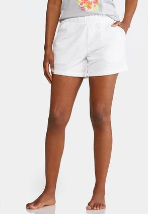 Terry Pull- On Athleisure Shorts