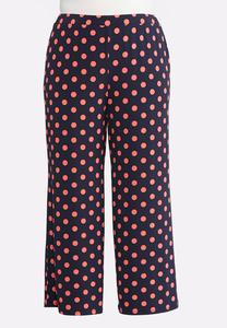 Plus Petite Dubarry Dot Palazzo Pants