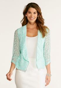 Allover Lace Blazer