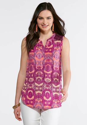 Majestic Paisley Top