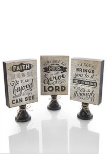 Inspirational Decorative Pedestal