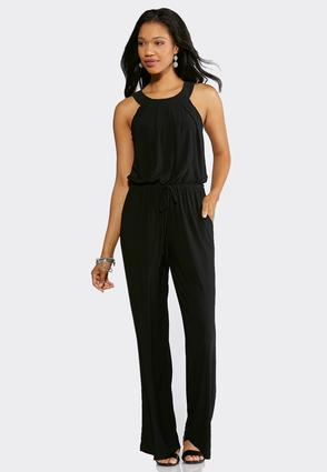 Plus Petite Dressy Tie Waist Jumpsuit at Cato in Brooklyn, NY | Tuggl