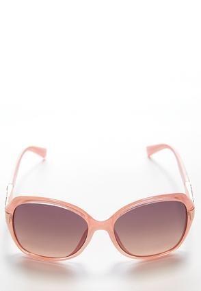 Pink Glam Square Sunglasses | Tuggl