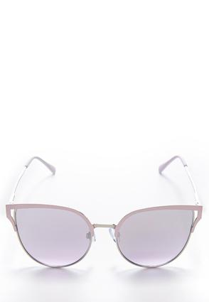 Enamel Brow Cateye Sunglasses | Tuggl