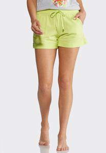 French Terry Athleisure Shorts