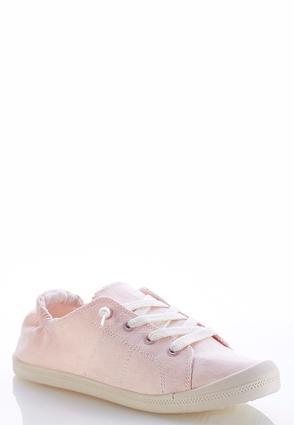 Denim Scrunch Sneakers | Tuggl