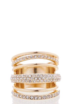 Layered Rhinestone Ring at Cato in Brooklyn, NY | Tuggl