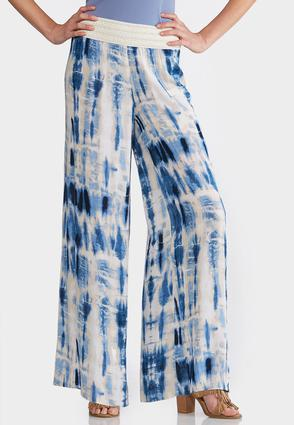 Tie Dye Gauze Palazzo Pants at Cato in Cookeville, TN | Tuggl