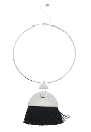 Fringe Pendant Choker Necklace at Cato in Brooklyn, NY | Tuggl