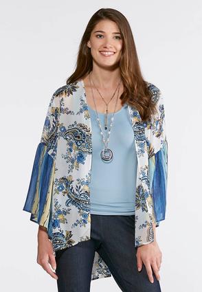 Breezy Bell Sleeve Kimono | Tuggl