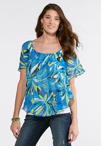 Plus Size Rio Tropical Capelet