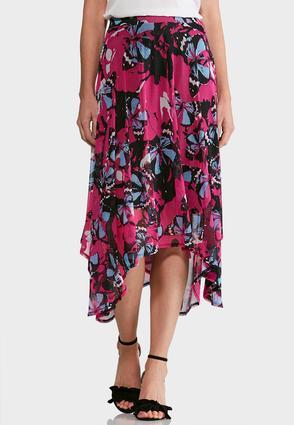 Butterfly Mesh Skirt | Tuggl