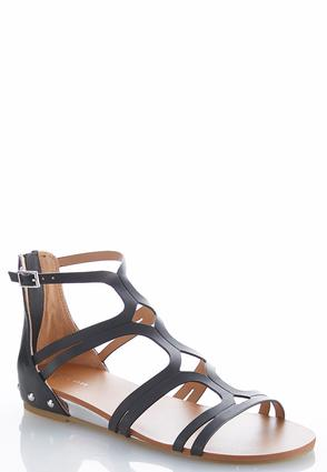 Studded Gladiator Sandals | Tuggl