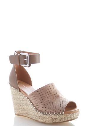 Perforated Rope Platform Wedges | Tuggl