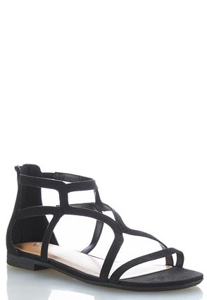 Faux Suede Gladiator Sandals at Cato in Brooklyn, NY | Tuggl