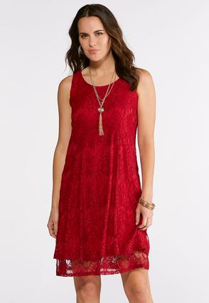Lovely Lace Swing Dress | Tuggl