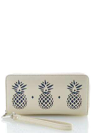 Pineapple Laser Cut Wallet | Tuggl