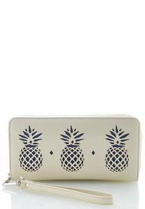 Pineapple Laser Cut Wallet