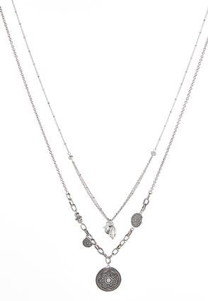 Layered Swirl Pendant Necklace at Cato in Brooklyn, NY | Tuggl