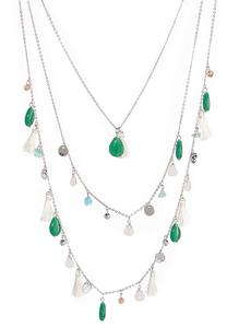 Layered Delicate Shaky Necklace