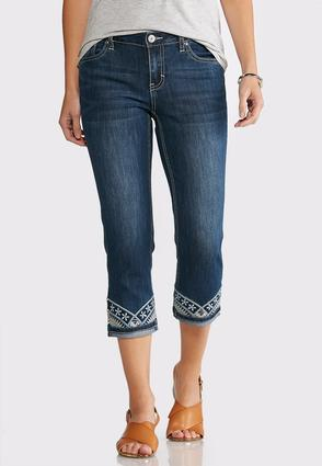 Cropped Turn-Up Hem Jeans at Cato in Brooklyn, NY | Tuggl