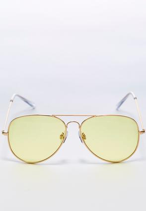 Colored Lens Aviator Sunglasses | Tuggl