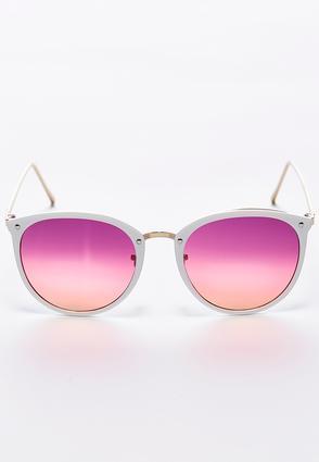 Sunset Tint Round Sunglasses | Tuggl