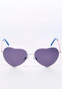Americana Heart Shaped Sunglasses