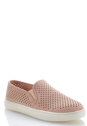 Perforated Slip-On Sneakers | Tuggl