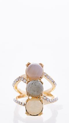 Triple Stone Statement Ring at Cato in Brooklyn, NY | Tuggl