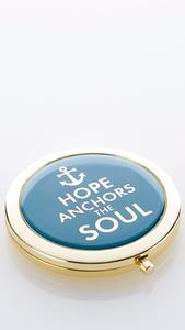 Hope Anchors Compact Mirror