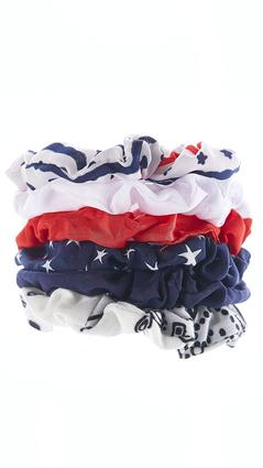 Americana Mini Scrunchie Set | Tuggl