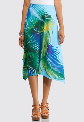 Tropical Breeze Hanky Hem Skirt | Tuggl