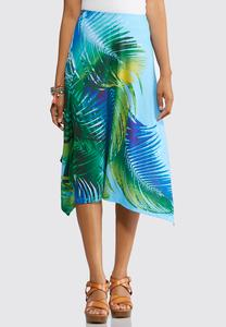 Tropical Breeze Hanky Hem Skirt