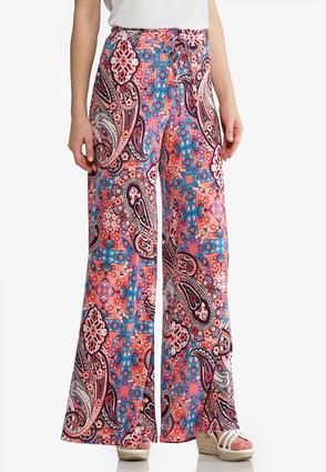 Medallion Paisley Palazzo Pants at Cato in Cookeville, TN | Tuggl