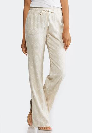 Linen Drawstring Pants at Cato in Brooklyn, NY | Tuggl