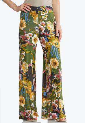 Flower Garden Palazzo Pants | Tuggl