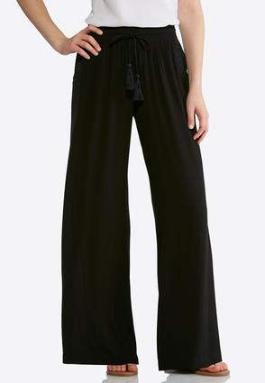 Embroidered Gauze Palazzo Pants at Cato in Brooklyn, NY | Tuggl