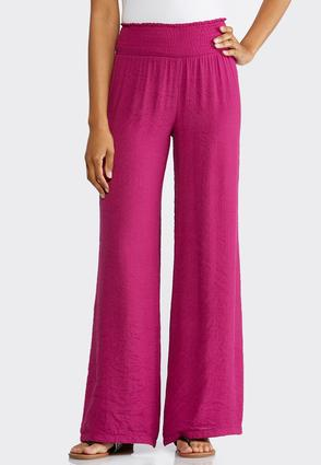 Solid Crinkle Palazzo Pants at Cato in Brooklyn, NY | Tuggl