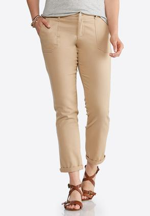 Chino Ankle Pants | Tuggl