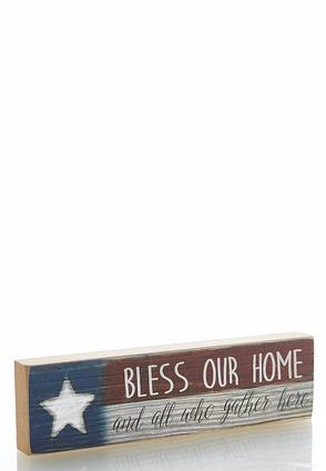 Americana Decor Plaque | Tuggl