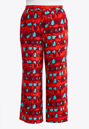 Plus Petite Tie Dye Palazzo Pants at Cato in Brooklyn, NY | Tuggl