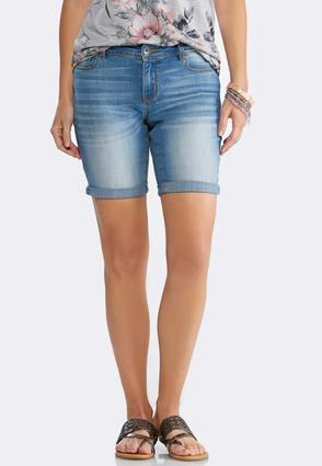 Cuffed Denim Shorts at Cato in Brooklyn, NY | Tuggl