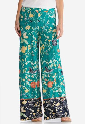 Windy Floral Palazzo Pants | Tuggl