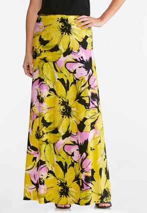 Brilliant Bloom Maxi Skirt | Tuggl