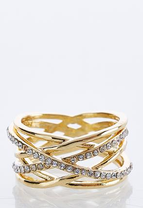 Criss Cross Metal Ring at Cato in Brooklyn, NY | Tuggl