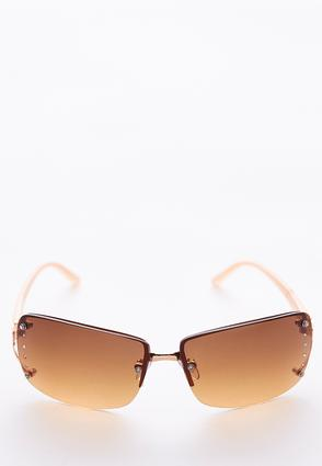 Tinted Rectangle Sunglasses | Tuggl